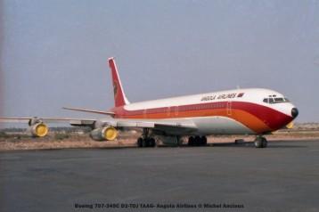011 Boeing 707-349C D2-TOJ TAAG- Angola Airlines © Michel Anciaux