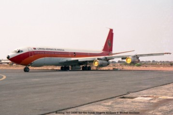 012 Boeing 707-349C D2-TOJ TAAG- Angola Airlines © Michel Anciaux