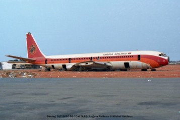 013 Boeing 707-347C D2-TOM TAAG- Angola Airlines © Michel Anciaux