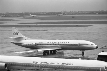 017 Sud-Aviation SE-210 Caravelle III OY-KRD SAS Scandinavian © Michel Anciaux