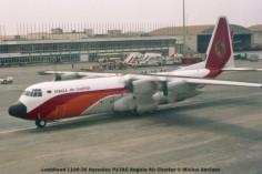 018 Lockheed L100-30 Hercules PJ-TAC Angola Air Charter © Michel Anciaux