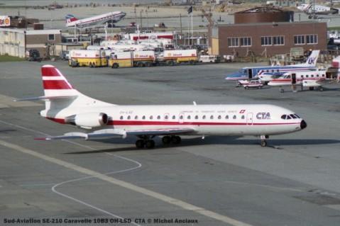 019 Sud-Aviation SE-210 Caravelle 10B3 OH-LSD CTA © Michel Anciaux