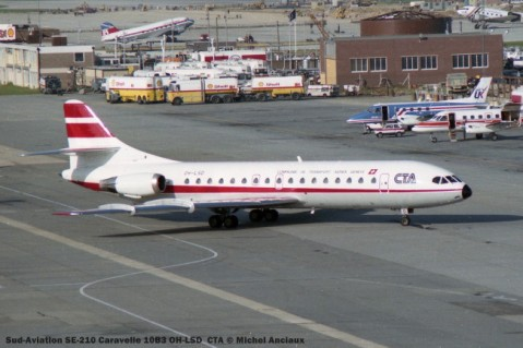 019 Sud-Aviation SE-210 Caravelle 10B3 OH-LSD CTA © Michel Anciaux