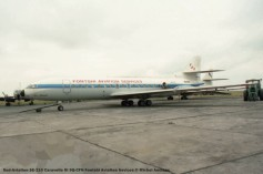 019 Sud-Aviation SE-210 Caravelle III 9Q-CFN Fontshi Aviation Sevices © Michel Anciaux