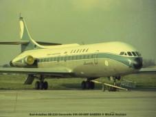019 Sud-Aviation SE-210 Caravelle VIN OO-SRF SABENA © Michel Anciaux