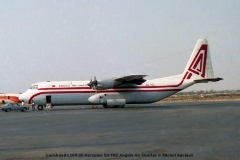 020 Lockheed L100-30 Hercules D2-THZ Angola Air Charter © Michel Anciaux