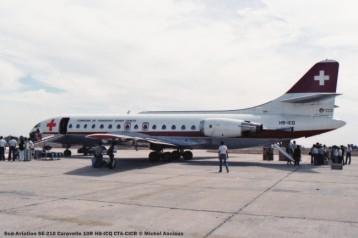 020 Sud-Aviation SE-210 Caravelle 10R HB-ICQ CTA-CICR © Michel Anciaux