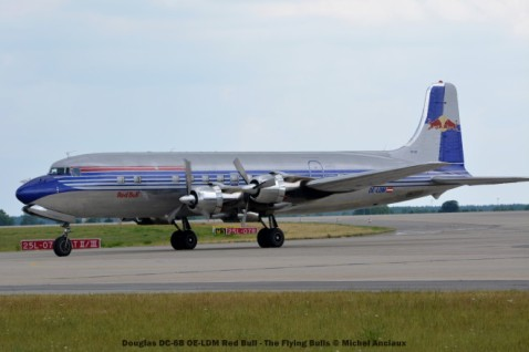 022 Douglas DC-6B OE-LDM Red Bull - The Flying Bulls © Michel Anciaux