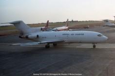 025 Boeing 727-21F D2-TJB Angola Air Charter © Michel Anciaux