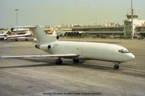 026 Boeing 727-023F D2-ESU SonAir © Michel Anciaux