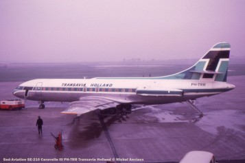 026 Sud-Aviation SE-210 Caravelle III PH-TRR Transavia Holland © Michel Anciaux