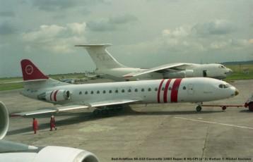 027 Sud-Aviation SE-210 Caravelle 10B3 Super B 9Q-CPI (2) Waltair © Michel Anciaux