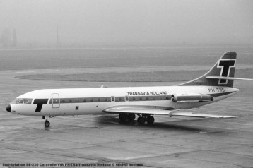 027 Sud-Aviation SE-210 Caravelle VIR PH-TRS Transavia Holland © Michel Anciaux