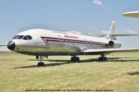 028 Sud-Aviation SE-210 Caravelle 11R 3D-CNA Malu Aviation © Michel Anciaux