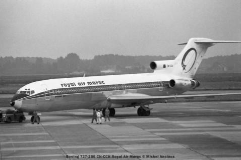 03 Boeing 727-2B6 CN-CCH Royal Air Maroc © Michel Anciaux