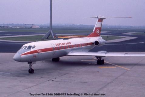 03 Tupolev Tu-134A DDR-SCT Interflug © Michel Anciaux
