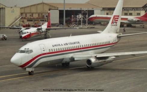 031 Boeing 737-214 D2-TBI Angola Air Charter © Michel Anciaux