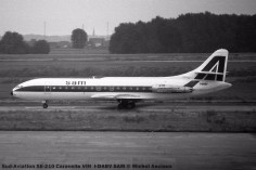 034 Sud-Aviation SE-210 Caravelle VIN I-DABV SAM © Michel Anciaux
