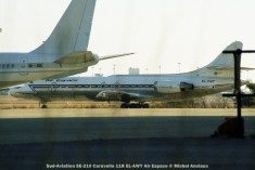 038 Sud-Aviation SE-210 Caravelle 11R EL-AWY Air Espace © Michel Anciaux