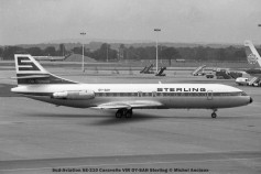 040 Sud-Aviation SE-210 Caravelle VIR OY-SAH Sterling © Michel Anciaux