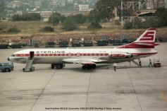 041 Sud-Aviation SE-210 Caravelle 10B3 OY-STD Sterling © Alain Anciaux
