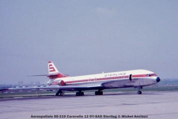 047 Aerospatiale SE-210 Caravelle 12 OY-SAD Sterling © Michel Anciaux