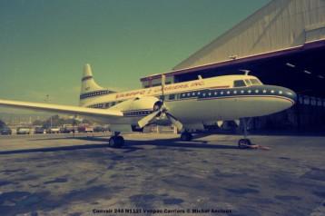 05 Convair 240 N112T Vanpac Carriers © Michel Anciaux
