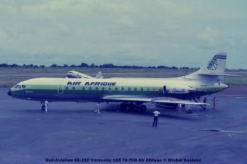 050 Sud-Aviation SE-210 Caravelle 11R TU-TCO Air Afrique © Michel Anciaux