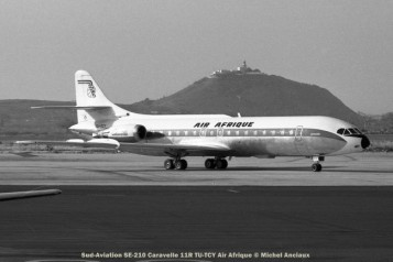 052 Sud-Aviation SE-210 Caravelle 11R TU-TCY Air Afrique © Michel Anciaux