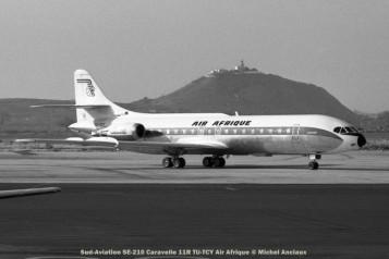 052 Sud-Aviation SE-210 Caravelle 11R TU-TCY Air Afrique © Michel Anciaux