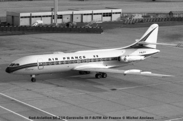 057 Sud-Aviation SE-210 Caravelle III F-BJTM Air France © Michel Anciaux
