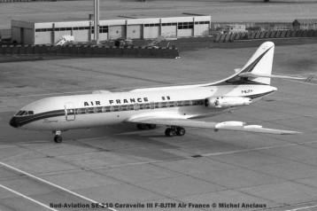 057 Sud-Aviation SE-210 Caravelle III F-BJTM Air France © Michel Anciaux
