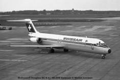 06 McDonnell Douglas DC-9-41 HB-IDW Swissair © Michel Anciaux