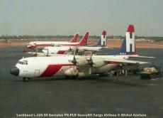 061 Lockheed L-100-30 Hercules PK-PLR Heavylift Cargo Airlines © Michel Anciaux
