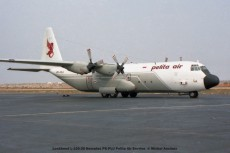 062 Lockheed L-100-30 Hercules PK-PLU Pelita Air Service © Michel Anciaux