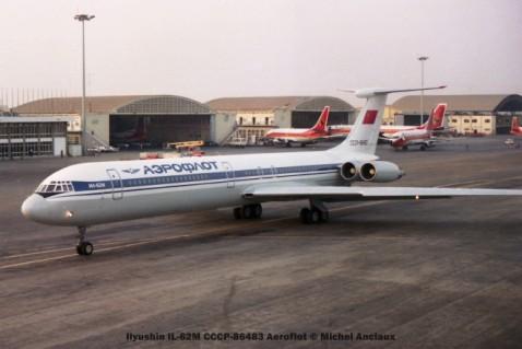 065 Ilyushin IL-62M CCCP-86483 Aeroflot © Michel Anciaux