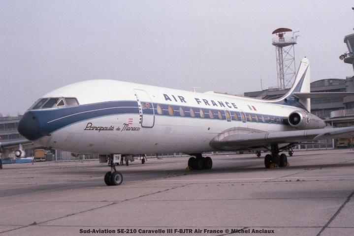 066 Sud-Aviation SE-210 Caravelle III F-BJTR Air France © Michel Anciaux