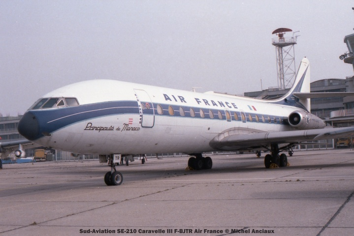 066 Sud-Aviation SE-210 Caravelle III F-BJTR Air France © Michel Anciaux