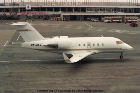072 Canadair 601-3A Challenger PT-OSA © Michel Anciaux