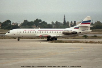 076 Sud-Aviation SE-210 Caravelle 10B3 F-BMKS Air Charter © Alain Anciaux