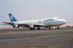 078 Boeing 747-128 F-BPVJ SABENA © Michel Anciaux