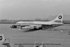 11 Sud-Aviation SE 210 Caravelle VIR CC-CCQ LAN Chile © Michel Anciaux