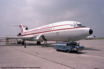 13 Boeing 727-2D6 7T-VEB Air Algerie © Michel Anciaux