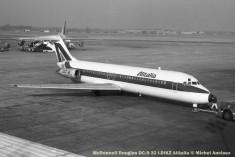 13 McDonnell Douglas DC-9-32 I-DIKZ Alitalia © Michel Anciaux