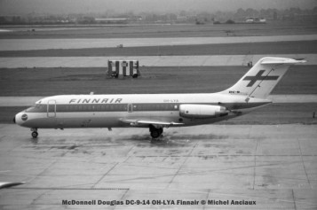 17 McDonnell Douglas DC-9-14 OH-LYA Finnair © Michel Anciaux