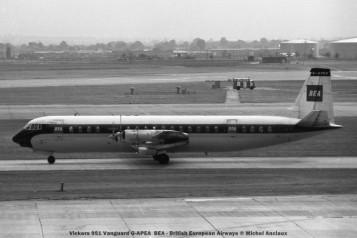 178 Vickers 951 Vanguard G-APEA BEA - British European Airways © Michel Anciaux
