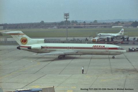 21 Boeing 727-256 EC-CBG Iberia © Michel Anciaux