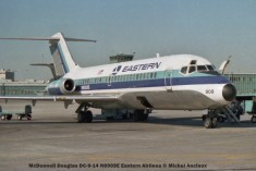 21 McDonnell Douglas DC-9-14 N8909E Eastern Airlines © Michel Anciaux