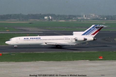25 Boeing 727-228 F-BOJC Air France © Michel Anciaux