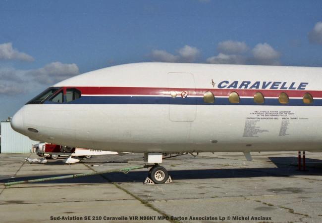 26 Sud-Aviation SE 210 Caravelle VIR N98KT MPC Barton Associates Lp © Michel Anciaux
